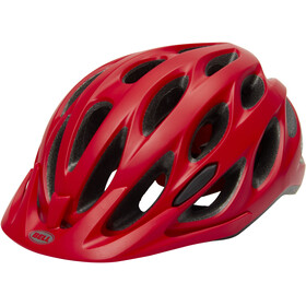 Bell Tracker Helmet machine red